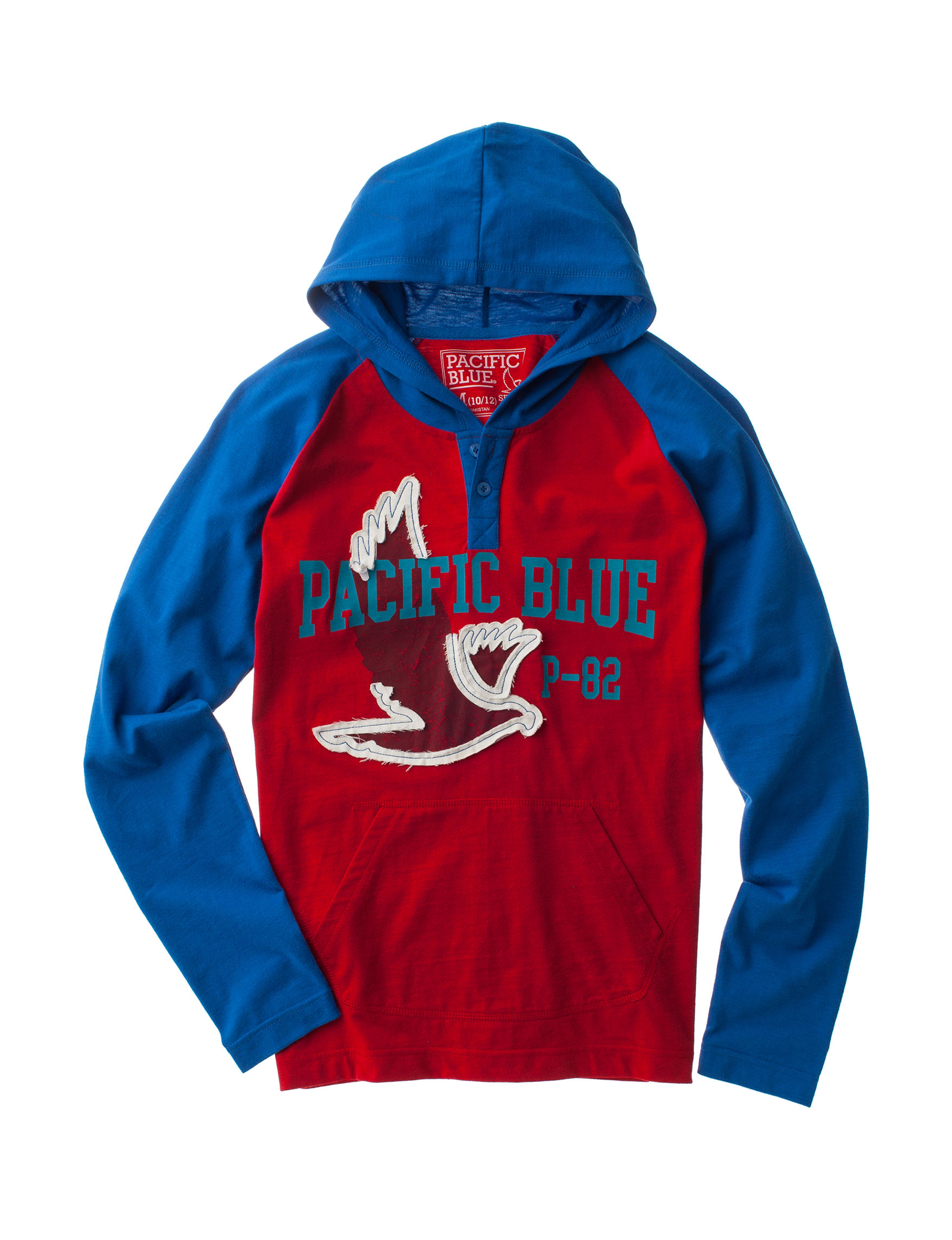 Pacific Blue Red
