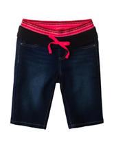 Squeeze Knit Waist Bermuda Shorts – Girls 7-14
