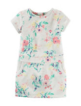 Carter's® Floral Print French Terry Dress - Girls 4-8