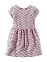 Carter's® Geo Glitter Print French Terry Dress - Toddler Girls