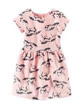 Carter's® Horse Print Pocket Dress - Toddler Girls