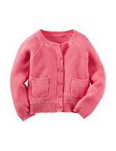 Carter's® Knit Button Front Cardigan –Toddler Girls