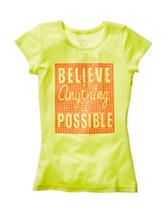 Twirl Believe Anything Is Possible Top – Girls 7-16