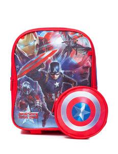 Licensed Red Bookbags & Backpacks