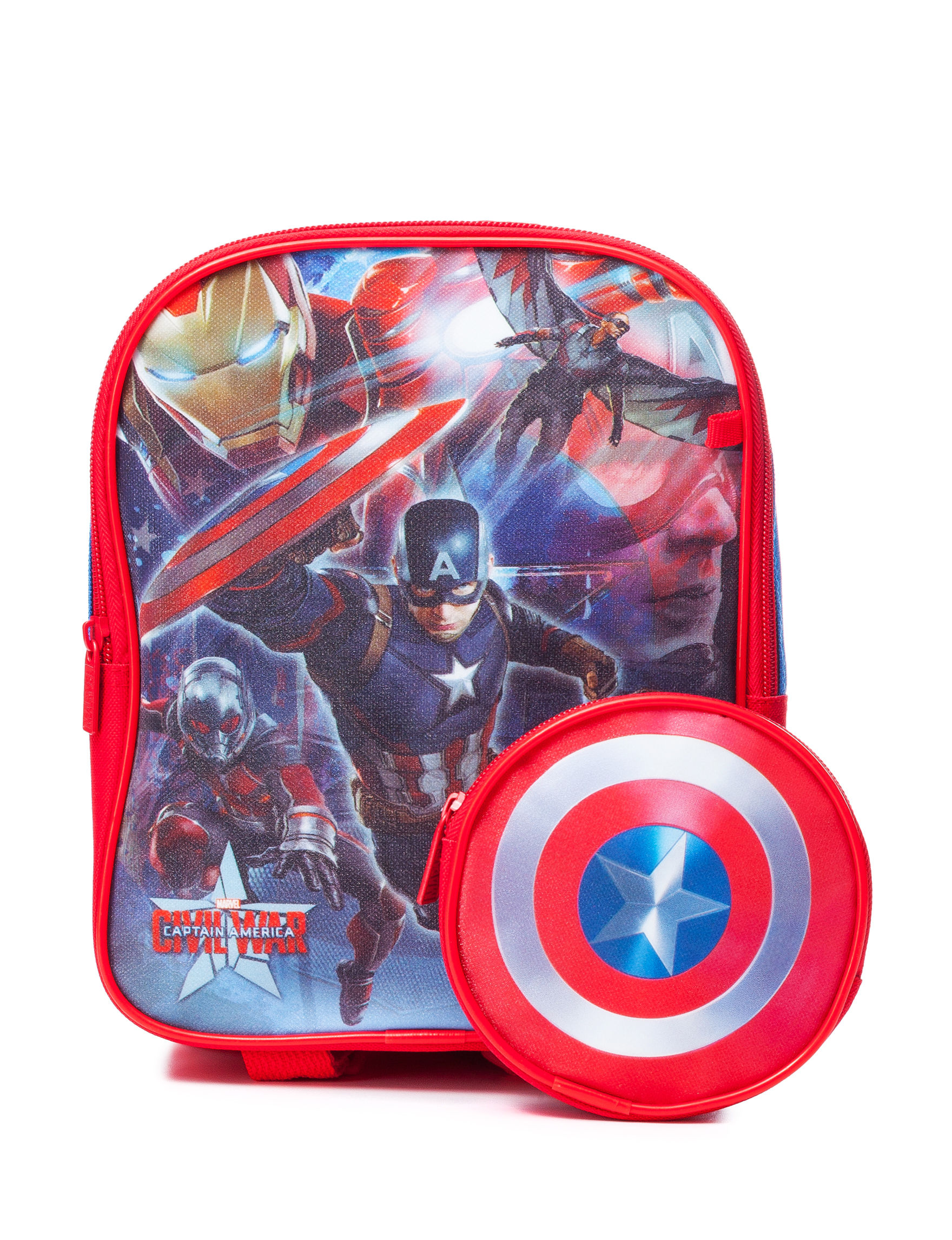 Licensed Red Bookbags & Backpacks