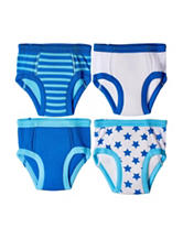 Trimfit 4-pk. Stars & Striped Print Training Briefs - Baby 18-24 Mos.