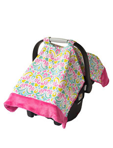 Itzy Ritzy® Cozy Happens™ Infant Car Seat Canopy – Brocade Splash