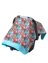 Itzy Ritzy® Cozy Happens™ Infant Car Seat Canopy –Watercolor Bloom