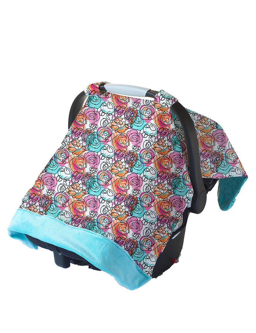 Itzy Ritzy Turqouise Car Seats Play Mats