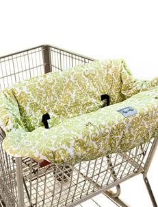 Itzy Ritzy Ritzy Sitzy Shopping Cart & High Chair Cover – Avocado Damask