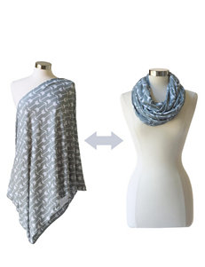 Itzy Ritzy® Nursing Happens™ Breast Feeding Infinity Scarf - Swift Arrows