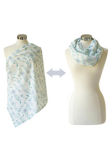 Itzy Ritzy® Nursing Happens™ Muslin Infinity Breastfeeding Scarf – Dreamcatcher