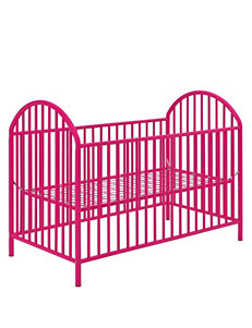 Cosco Prism Metal Crib – Pink