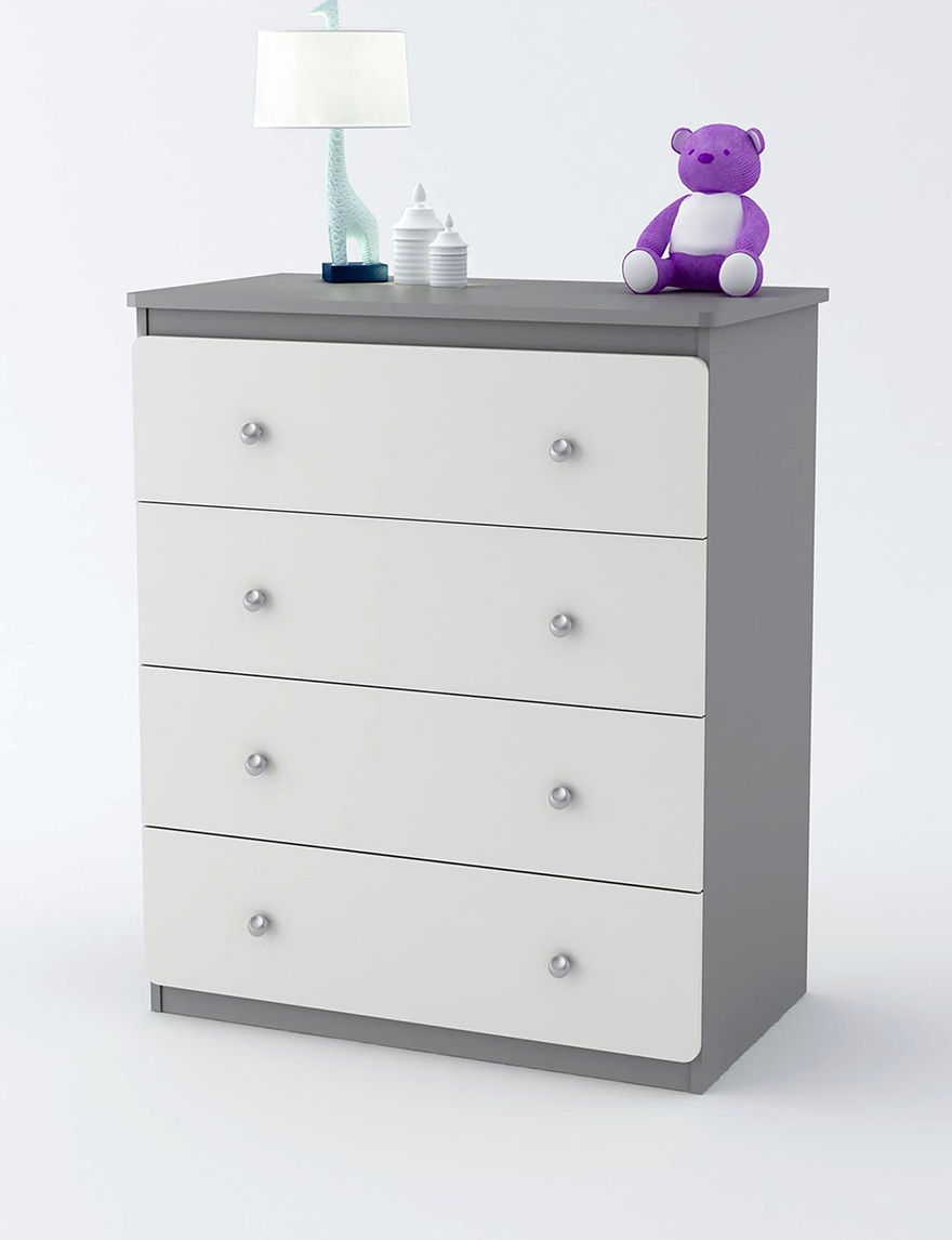 Cosco Light Grey Dressers & Chests