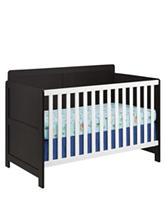 Cosco Willow Lake Crib - Espresso & White