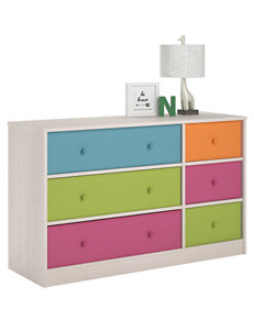 Cosco Applegate Storage Chest with 6 Fabric Bins – Enchanted Pine