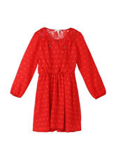 Speechless Red Crochet Dress - Girls - Plus