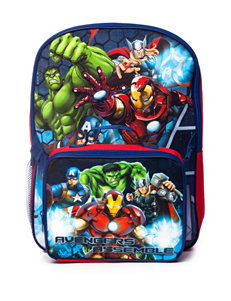 Avengers Assemble Backpack with Lunch Kit