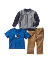Nautica 3-pc. Baseball Jogger Set – Baby 12-24 Mos.