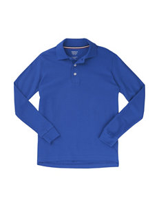 French Toast Royal Blue Polos