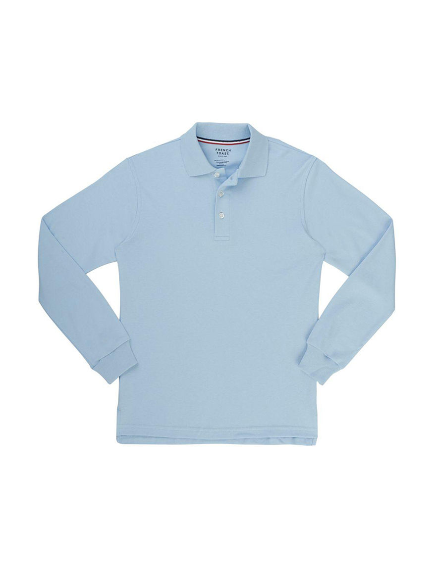 French Toast Blue Polos