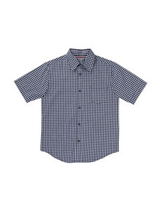 French Toast Plaid Plaid Print Shirt - Boys 4-7