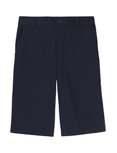 French Toast Elastic Back Shorts - Boys 4-5
