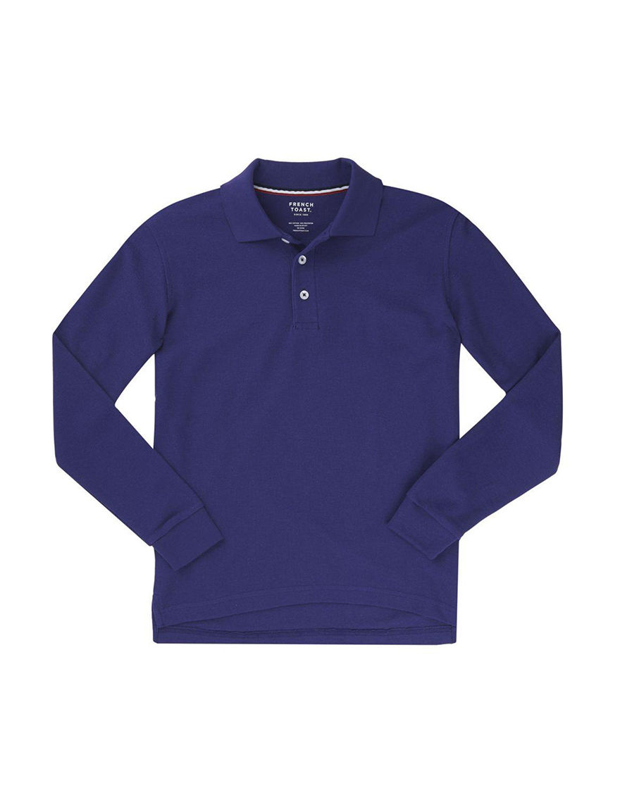 French Toast Purple Polos