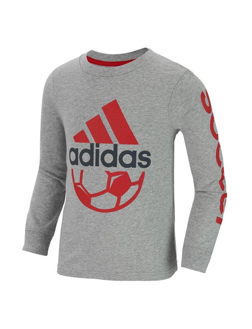 Adidas Grey / Red