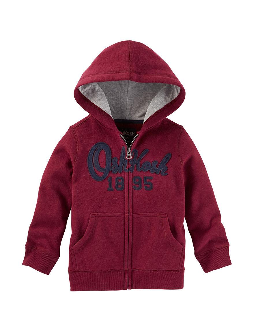 Oshkosh B'Gosh Red Lightweight Jackets & Blazers