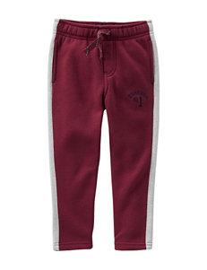 OshKosh B'gosh® Red Jogger Pants - Boys 4-7
