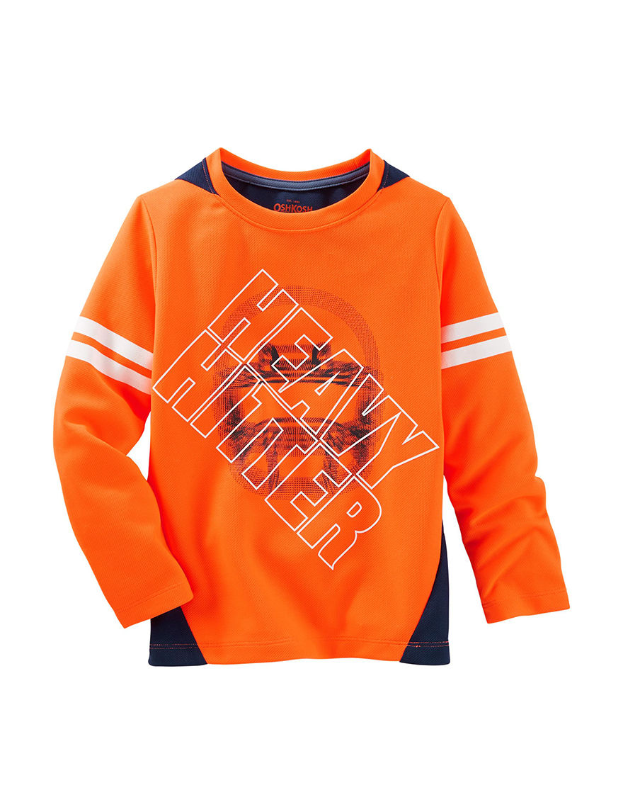 Oshkosh B'Gosh Orange Tees & Tanks