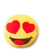 Emoji Pals Love Heart Eyes Emoji Pillow