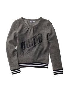 Puma Logo Hoodie - Girls 7-16