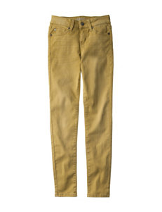 Celebrity Pink Yellow Stretch Jeans - Girls 7-16