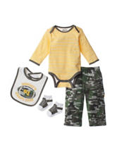 Baby Gear 4-pc. Mommy's Draft Pick Bodysuit & Pants Set - Baby 0-12 Mos.