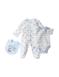 Baby Gear 3-pc. Thank Heaven For Little Boys Set - Baby 0-6 Mon.