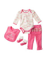 Baby Gear 4-pc. She Sparkles Pants Set - Baby 0-12 Mos.