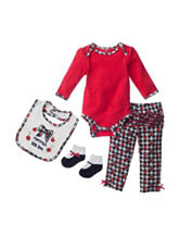 Baby Gear 4-pc. Mommy's Little Love Bodysuit & Leggings Set - Baby 0-12 Mos.