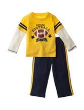 Baby Gear 2-pc. Football Shirt & Pants Set - Baby 12-24 Mos.