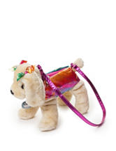 Poochie & Co. Rainbow Print Dog Purse