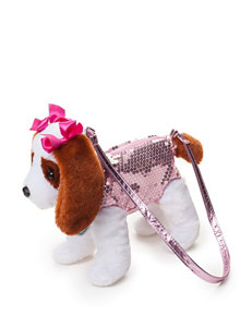 Poochie & Co. Flower Sequin Lizzy Dog Bag