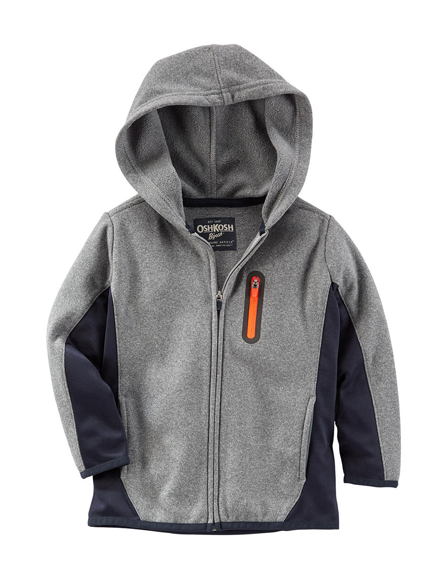 Oshkosh B'Gosh Grey Lightweight Jackets & Blazers