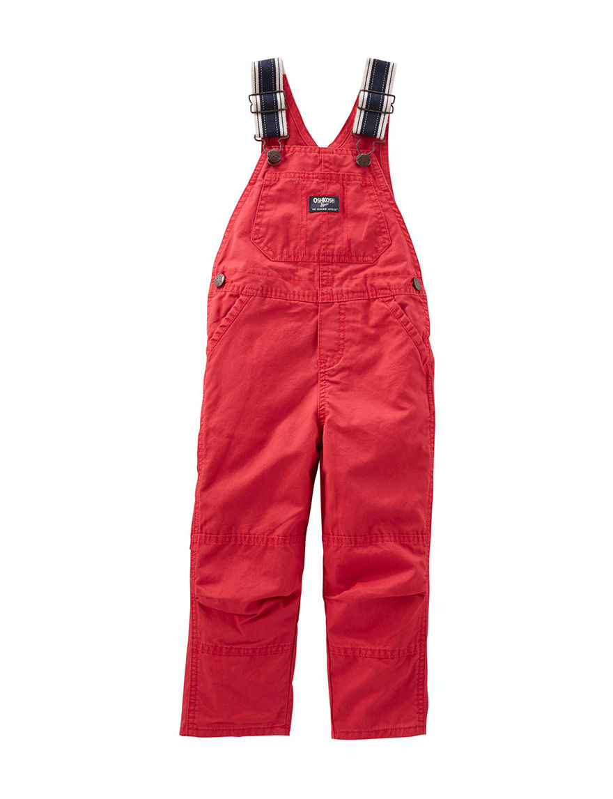 Vintage Red Overalls - Retro Kids Coveralls - Red Corduroy Pants - Toddler Boy Clothes - Valentine's Day Gift.