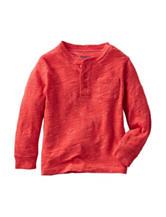 OshKosh Bgosh® Red Henley T-shirt - Toddler Boys