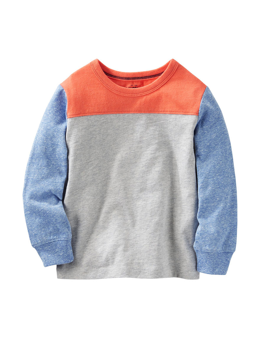 Oshkosh B'Gosh Heather Grey Tees & Tanks