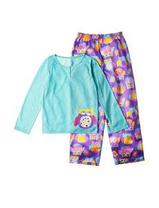 Komar Purple Pajama Sets