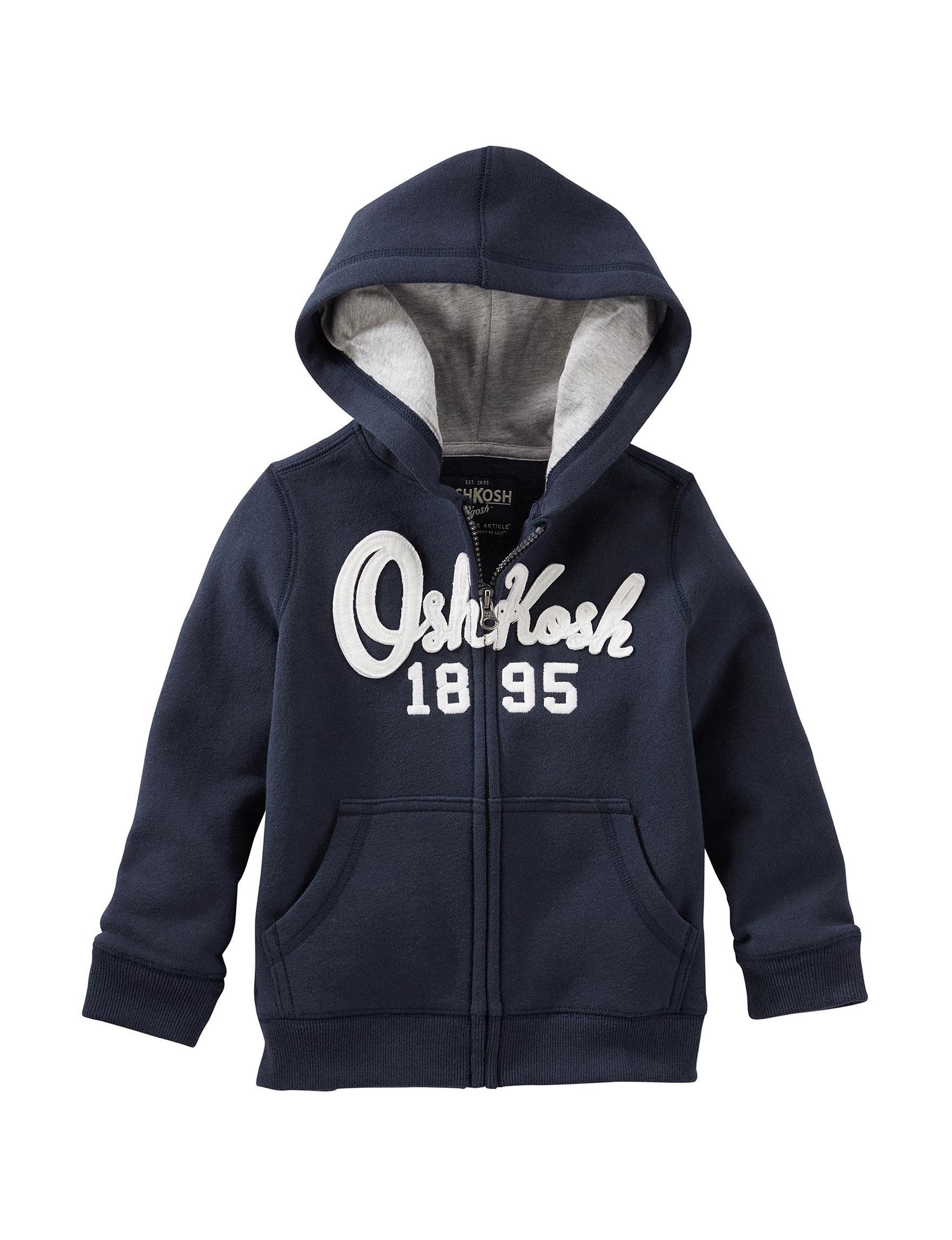 Oshkosh B'Gosh Navy Lightweight Jackets & Blazers