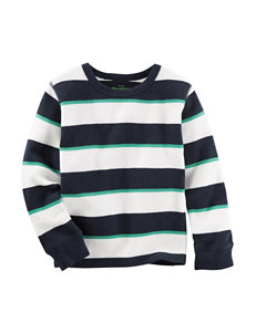 OshKosh B'gosh® Striped Print Thermal Shirt - Toddler Boys