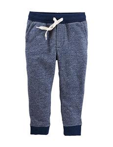 OshKosh B'gosh® Heather Blue Jogger Pants - Toddler Boys